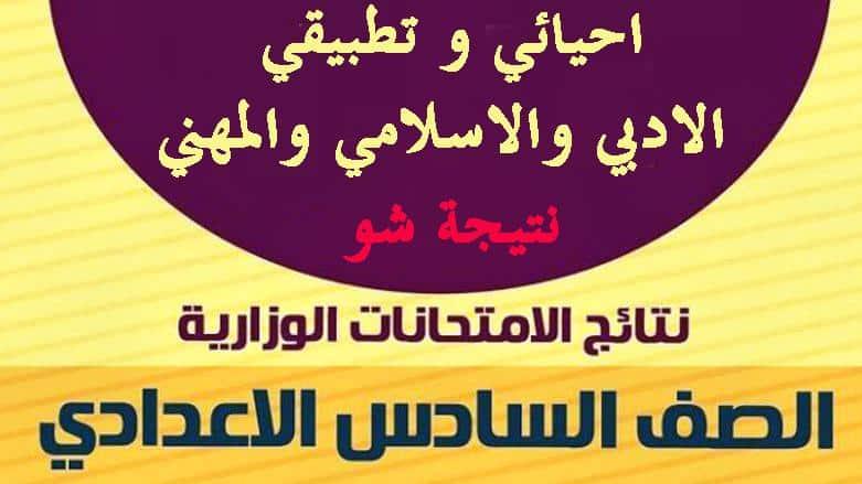 نتيجة الصف السادس الاعدادي الدور الاول في العراق